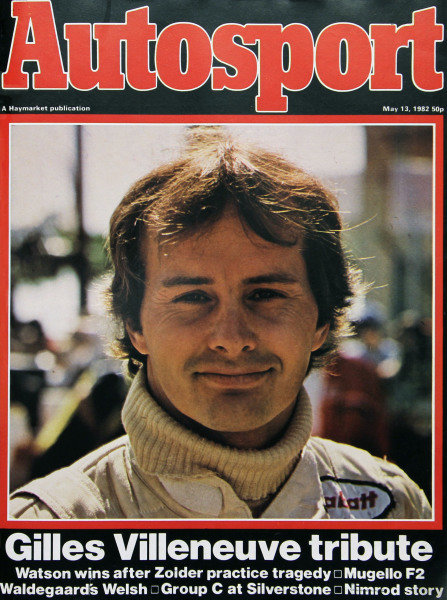 Cover of Autosport magazine, 13th May 1982