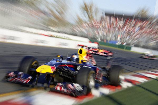 Sebastian Vettel, Red Bull RB7 Renault.