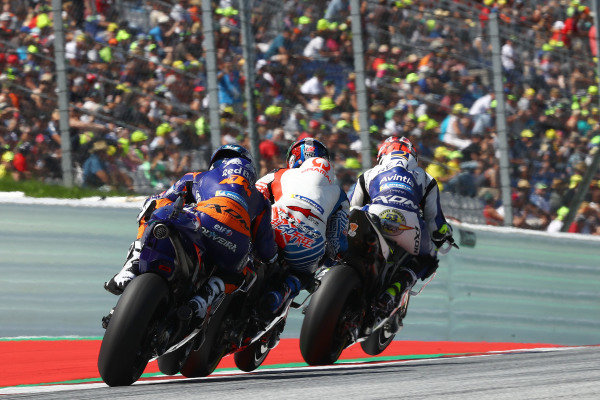 Tito Rabat, Avintia Racing, Francesco Bagnaia, Pramac Racing, Miguel Oliveira, Red Bull KTM Tech 3