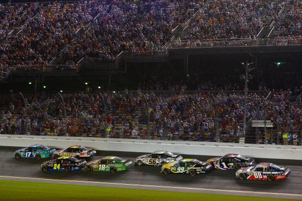 July 05- 07, 2012, Daytona Beach, Florida, USAMatt Kensetha and Greg Biffle pack(c) 2012, LAT SouthLAT Photo USA