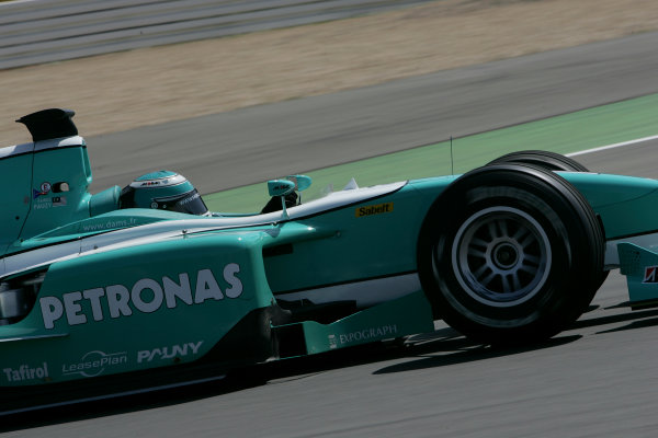 2005 GP2 Series - EuropeanNurburgring, Germany 27th-29th May 2005Friday PracticeFairuz Fauzy (MAL, DAMS). Action. Photo: GP2 Series Media Serviceref: Digital Image Only.