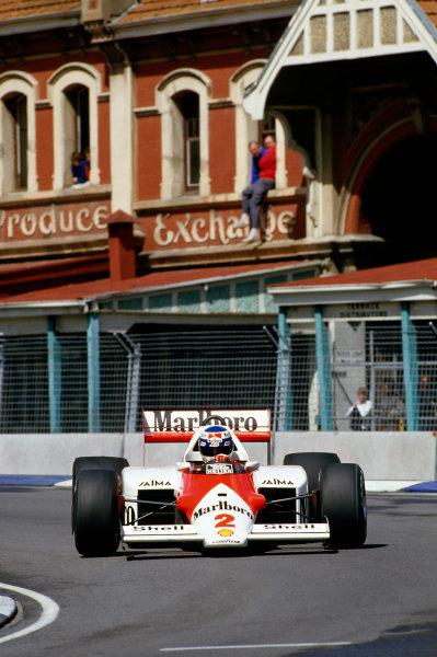 1986 Australian Grand PrixAdelaide, Australia24-26th October 1986 World Copyright: LAT Photographic