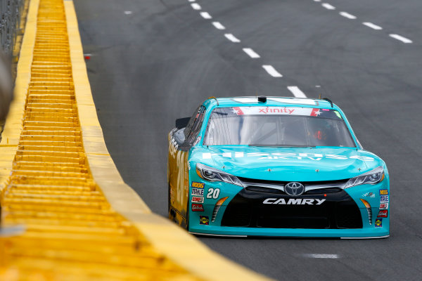 NASCAR Xfinity Series Hisense 4K TV 300 Charlotte Motor Speedway, Concord, NC USA Thursday 25 May 2017 Denny Hamlin, Hisense Toyota Camry World Copyright: Lesley Ann Miller LAT Images