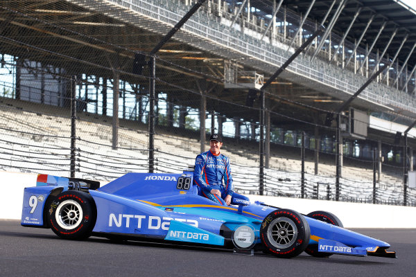 Verizon IndyCar Series Indianapolis 500 Qualifying Indianapolis Motor Speedway, Indianapolis, IN USA Monday 22 May 2017 Scott Dixon, Chip Ganassi Racing Teams Honda World Copyright: Phillip Abbott LAT Images ref: Digital Image abbott_indyQ_0517_21691