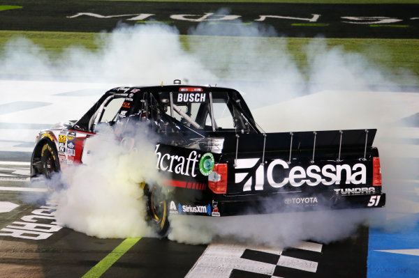NASCAR Camping World Truck Series North Carolina Education Lottery 200 Charlotte Motor Speedway, Concord, NC USA Friday 19 May 2017 Kyle Busch, Cessna Toyota Tundra World Copyright: Matthew T. Thacker LAT Images ref: Digital Image 17CLT1mt1236
