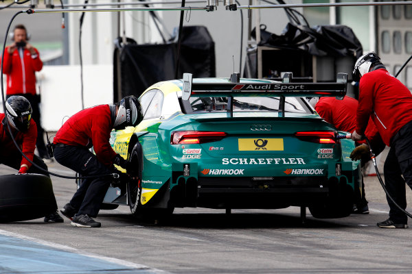 2017 DTM Testing & Media Day Hockenheim, Germany. Thursday 6 April 2017. Mike Rockenfeller, Audi Sport Team Phoenix, Audi RS 5 DTM. World Copyright: Alexander Trienitz/LAT Images ref: Digital Image 2017-DTM-MD-HH-AT2-0643