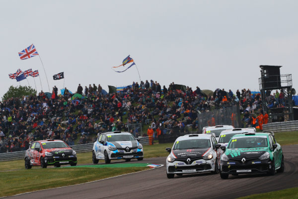 2017 Renault Clio Cup Thruxton, 6th-7th May 2017,  Luke Reade (GBR) Ciceley Motorsport Renault Clio Cup World copyright. JEP/LAT Images