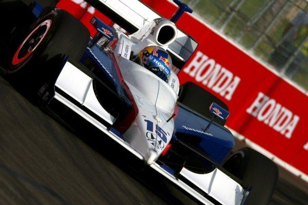 Buddy Rice (USA), Dreyer & Reinbold Racing Dallara Honda.IRL IndyCar Series, Rd2, Honda Grand Prix of St Petersburg, Florida, USA. 31 March-01 April 2007.DIGITAL IMAGE