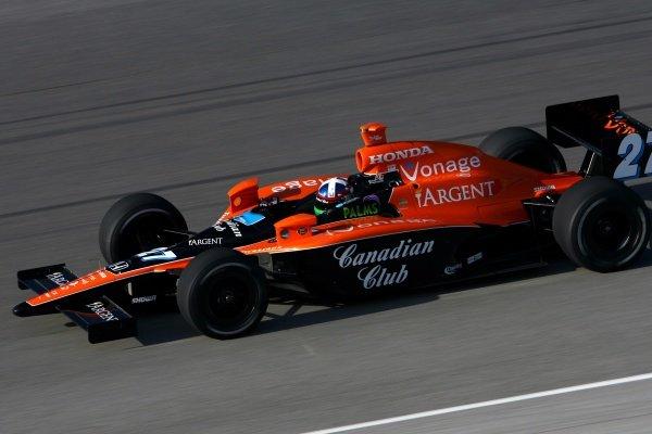 Dario Franchitti (GBR), Andretti Green Racing Dallara Honda.IRL IndyCar Series, Rd1, XM Satellite Indy 300, Homestead-Miami Speedway, Homestead, FLorida, USA. 23-25 March 2007.DIGITAL IMAGE