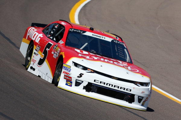 NASCAR Xfinity Series DC Solar 200 ISM Raceway, Phoenix, AZ USA Friday 9 March 2018 Michael Annett, JR Motorsports, Chevrolet Camaro Pilot Flying J World Copyright: Matthew T. Thacker NKP / LAT Images
