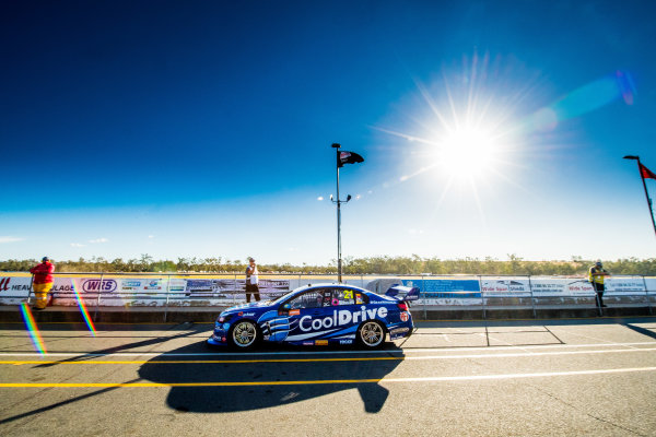 2017 Supercars Championship Round 8.  Ipswich SuperSprint, Queensland Raceway, Queensland, Australia. Friday 28th July to Sunday 30th July 2017. Tim Blanchard, Brad Jones Racing Holden.  World Copyright: Daniel Kalisz/ LAT Images Ref: Digital Image 280717_VASCR8_DKIMG_7940.jpg