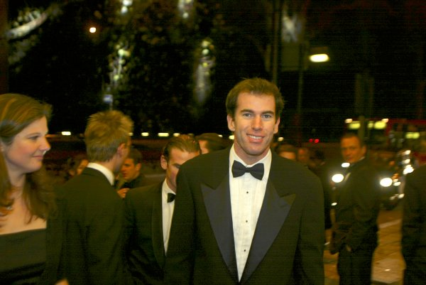 2003 AUTOSPORT AWARDS, The Grosvenor, London. 7th December 2003.Ralph Firman Jnr arrives at the Awards.Photo: Peter Spinney/LAT PhotographicRef: Digital Image only