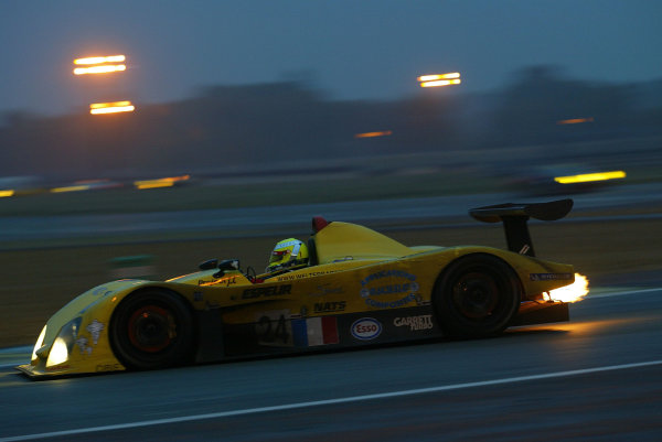 2003 Le Mans 1000kmLe Mans, France. 8th - 9th October 2003.The WR heats up a cold, wet day.World Copyright: John Brooks/LAT Photographicref: Digital Image Only