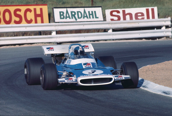 1970 South African Grand Prix.Kyalami, South Africa.5-7 March 1970.Jean Pierre-Beltoise (Matra-Simca MS120) 4th position.Ref-70 SA 10.World Copyright - LAT Photographic