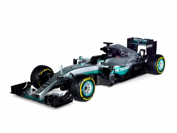 Mercedes F1 W07 Hybrid Studio Images. Friday 19 February 2016. Photo: Mercedes-Benz F1 (Copyright Free FOR EDITORIAL USE ONLY) ref: Digital Image F1_W07_Hybrid_02