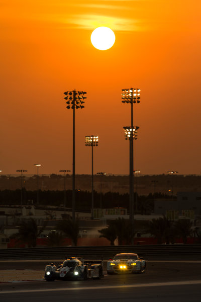 2015 FIA World Endurance Championship Bahrain 6-Hours Bahrain International Circuit, Bahrain Saturday 21 November 2015.Alexander Wurz, St?phane Sarrazin, Mike Conway (#2 LMP1 Toyota Racing Toyota TS 040 Hybrid). World Copyright: Sam Bloxham/LAT Photographic ref: Digital Image _SBL5172