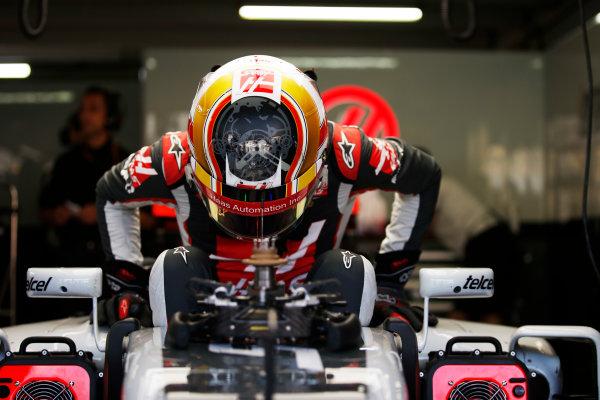 Hockenheim, Germany. Friday 29 July 2016. Charles Leclerc, test and development driver, Haas F1.  World Copyright: Sam Bloxham/LAT Photographic ref: Digital Image _SLA9841