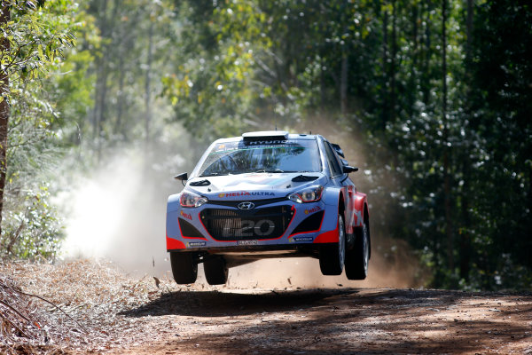 2014 World Rally Championship Rally Australia 11th - 14th September 2014 Chris Atkinson, Hyundai, action Worldwide Copyright: McKlein/LAT