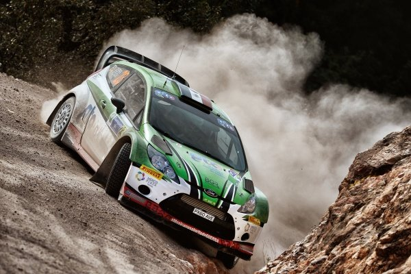 Benito Guerra (MEX) Ford Fiesta RS WRC at World Rally Championship, Rd3, Rally Mexico, Day One, Leon, Mexico, 6 March 2015.