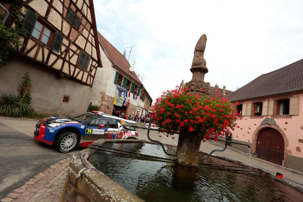 2013 FIA World Rally Championship Round 11-Rally de France 03-06/9 2013. Robert Kubica, Citroen, action  Worldwide Copyright: McKlein/LAT