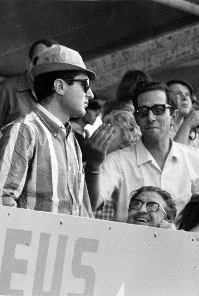 1966 French Grand Prix.Reims, France. 3 July 1966.Mauro Forghieri, portrait.World Copyright: LAT Photographic