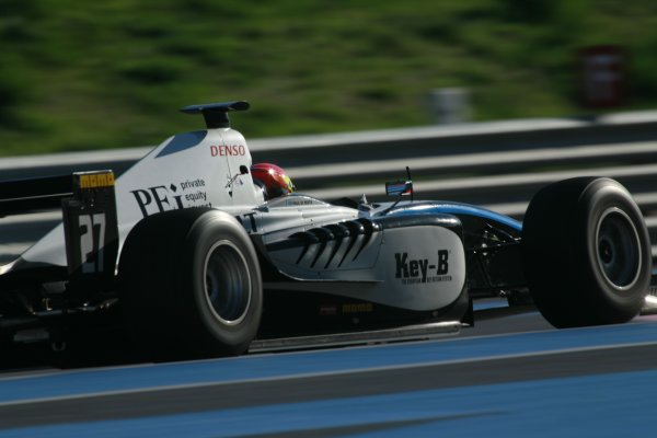 2006 GP2 Testing  - Paul Ricard. France. 1st November 2006Paul De Resta (GBR) Trident Racing.Photo: Malcolm Griffiths/GP2 Media Serviceref: Digital Image Onlye