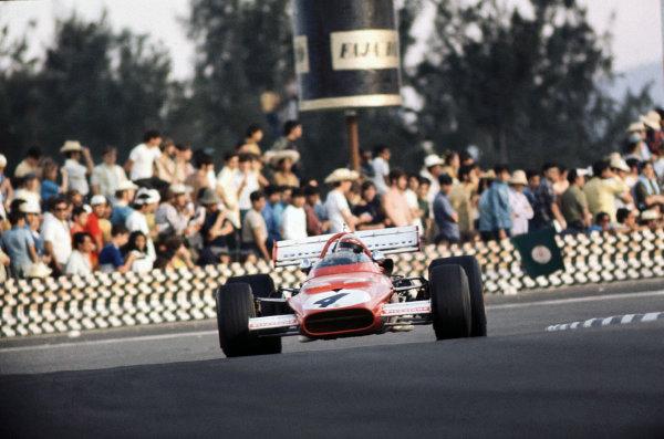 Mexico City, Mexico. 23-25 October 1970.Clay Regazzoni (Ferrari 312B), 2nd position, action. World Copyright: LAT Photographic.Ref:  70 MEX 47.