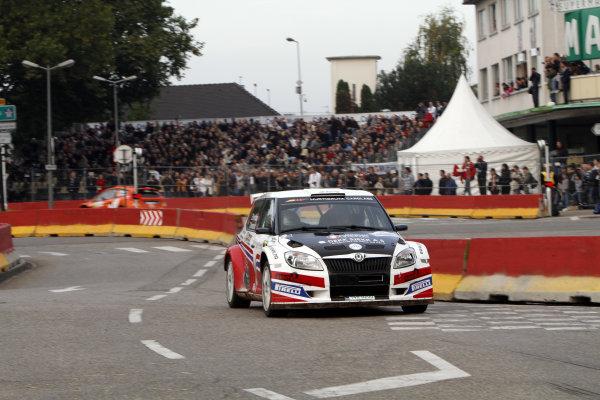 Round 11Rally de France 30/9-3/10Eyvind Brynildsen, Skoda SWRC, Action.Worldwide Copyright: McKlein/LAT