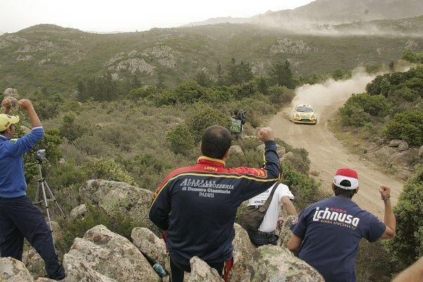 FIA World Rally Championship 2006Round 7Rally of Italy, Sardinia.18th - 21st May 2006.Gigi Galli, Ford, action.