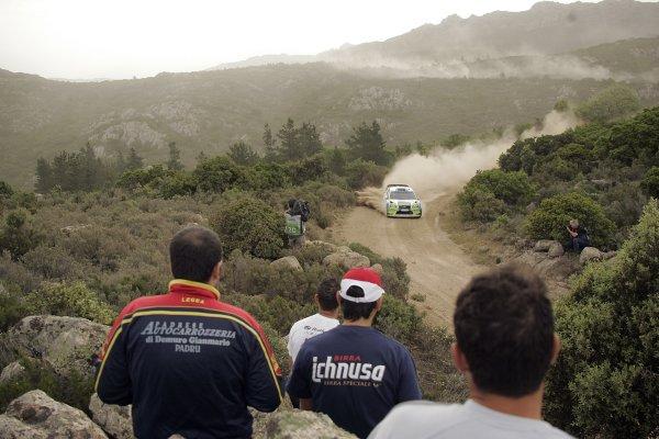 FIA World Rally Championship 2006Round 7Rally of Italy, Sardinia.18th - 21st May 2006.Mikko Hirvonen, Ford, action.