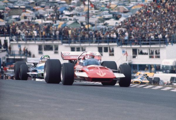 1970 United States Grand Prix.Watkins Glen, New York, USA.2-4 October 1970.Derek Bell (Surtees TS7 Ford) 6th position.Ref- 70 USA 07.World Copyright - LAT Photographic