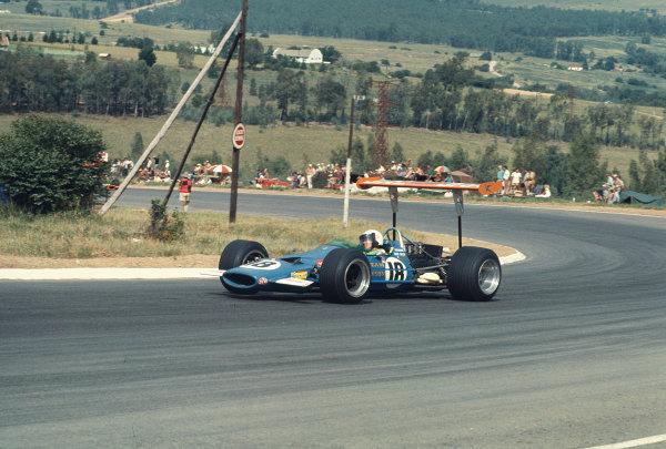 1969 South African Grand Prix.Kyalami, South Africa.27/2-1/3 1969.Basil van Rooyen (Team Lawson/McLaren M7A Ford).Ref-69 SA 80.World Copyright - LAT Photographic
