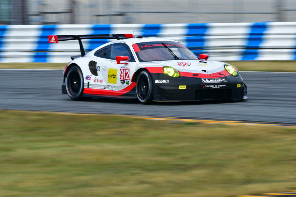 13-14 December 2016,  Daytona Beach, Florida USA 912, Porsche, Porsche 911 RSR, GTLM, Michael Christensen, Laurens Vanthoor ©2016, Richard Dole LAT Photo USA