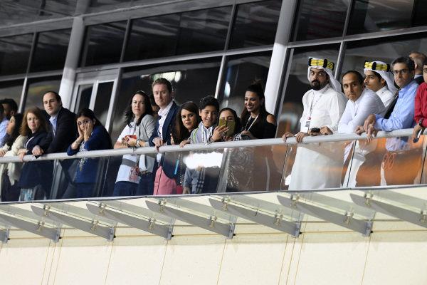 Fans at Formula One World Championship, Rd2, Bahrain Grand Prix Race, Bahrain International Circuit, Sakhir, Bahrain, Sunday 3 April 2016.