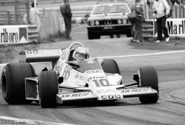 Michael Bleekemolen (NED) ATS HS1 failed to qualify on his debut GP appearance.