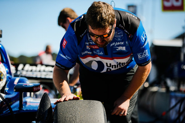 Graham Rahal, Rahal Letterman Lanigan Racing Honda, crew member