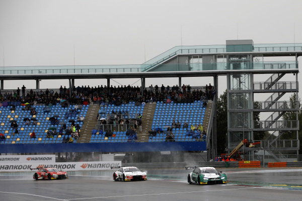 Marco Wittmann, BMW Team RMG, BMW M4 DTM leads.