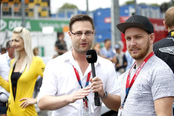 Robert Seiwert Motorsportmagazin.com with Jan Seyffarth