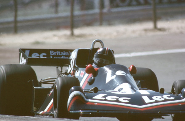 1977 Spanish Grand Prix.