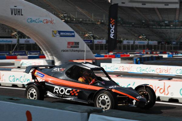 Ryan Hunter-Reay (USA) driving the ROC Car