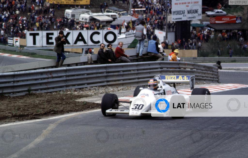 1983 Belgian Grand Prix.