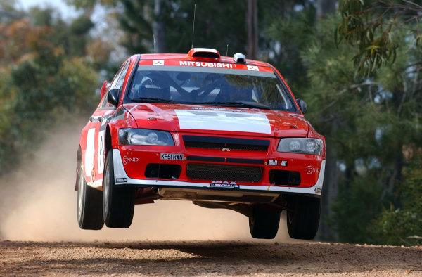 2002 World Rally Championship.Telstra Rally Australia, Perth. October 31st-November 3rd.Jani Paasonen during shakedown.Photo: Ralph Hardwick/LAT
