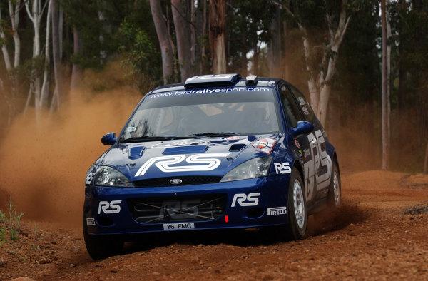 2002 World Rally Championship.Telstra Rally Australia, Perth. October 31st-November 3rd.Markko Martin during shakedown.Photo: Ralph Hardwick/LAT