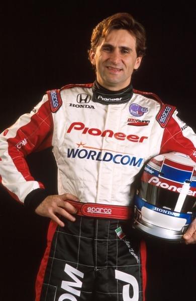 Alex Zanardi (ITA) Mo Nunn Racing2001 Champ Car sneak preview, 17-18th January 2001, Fontana, USA