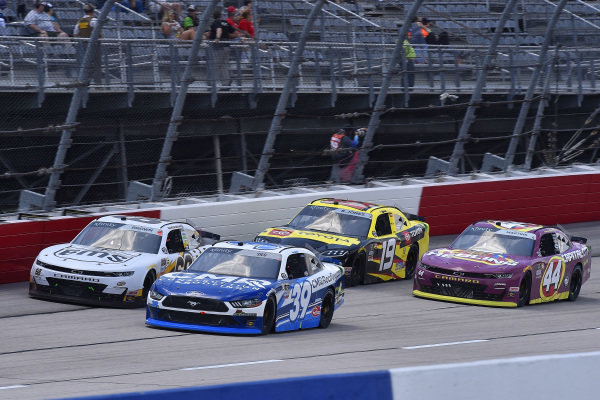 #39: Ryan Sieg, RSS Racing, Ford Mustang CMR Construction and Roofing, #68: Brandon Brown, Brandonbilt Motorsports, Chevrolet Camaro Brandonbilt Motorsports
