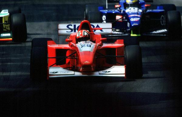 International F3000 MonacoMonte Carlo, Rd 5, 2nd - 3rd june 2000.Jamie Davies (Fortec) action. Davies would finish 2nd.World - Bellanca/ LAT PhotographicThree Thousand Monaco