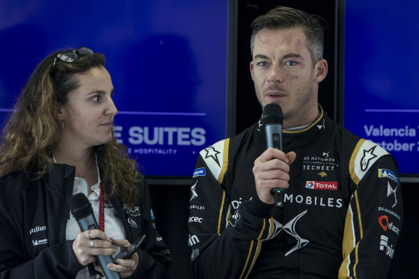 Driver Q&A with Andre Lotterer (DEU), DS TECHEETAH