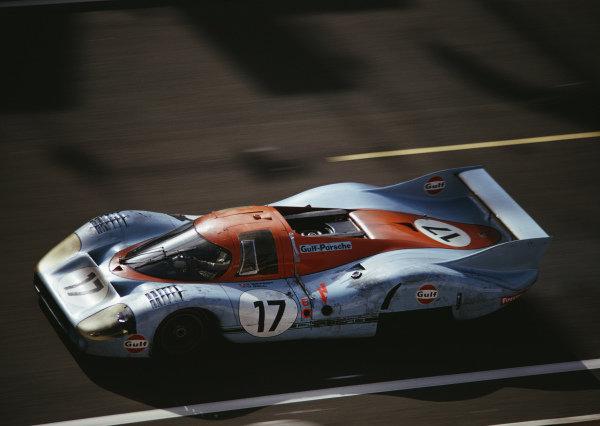 Jo Siffert / Derek Bell, J. W. Automotive Engineering, Porsche 917L.
