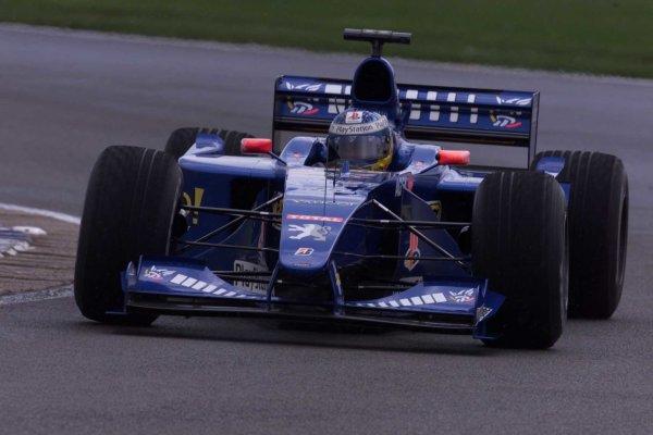 2000 British Grand Prix.Silverstone, England. 21-23 April 2000.Nick Heidfeld (Prost AP03 Peugeot).World Copyright - LAT Photographic