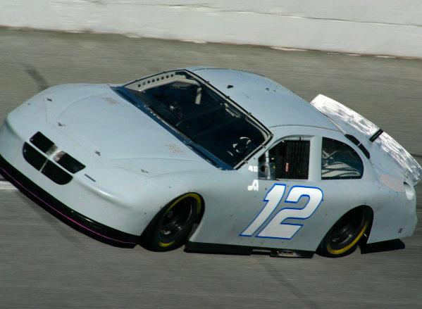2003 NASCAR TestingDaytona, USA. 16th January 2003 Ryan Newman (Dodge Penske Racing), action.World Copyright: Greg Aleck/ LAT Photographic ref: Digital Image Only